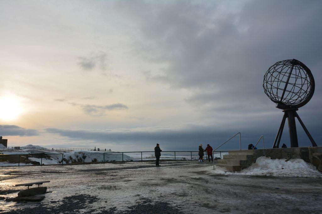 Arktis-Stimmung am Nordkap
