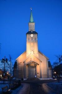 Domkirche in Tromsø