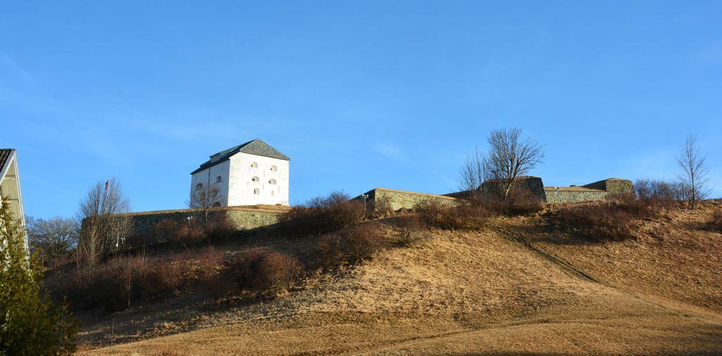 Hoch über Trondheim: Die Festung Kristiansten
