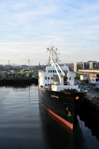 So stellt man sich ein Postschiff vor: Die MS Lofoten.