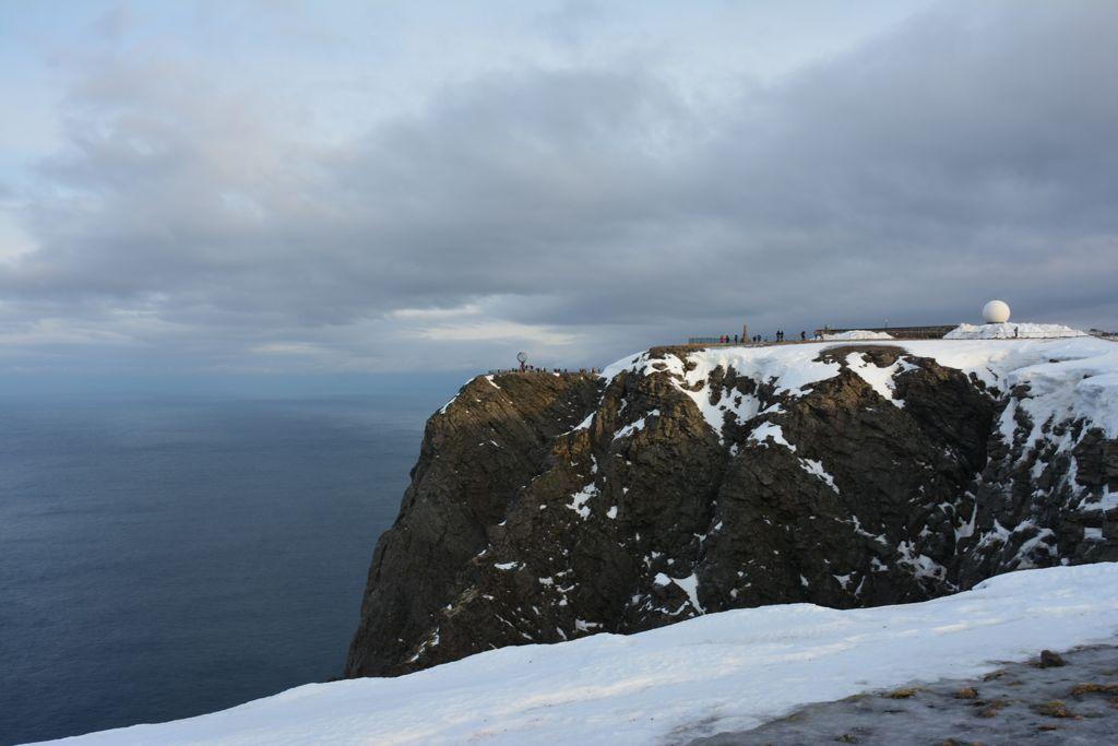 Blick aufs Nordkap