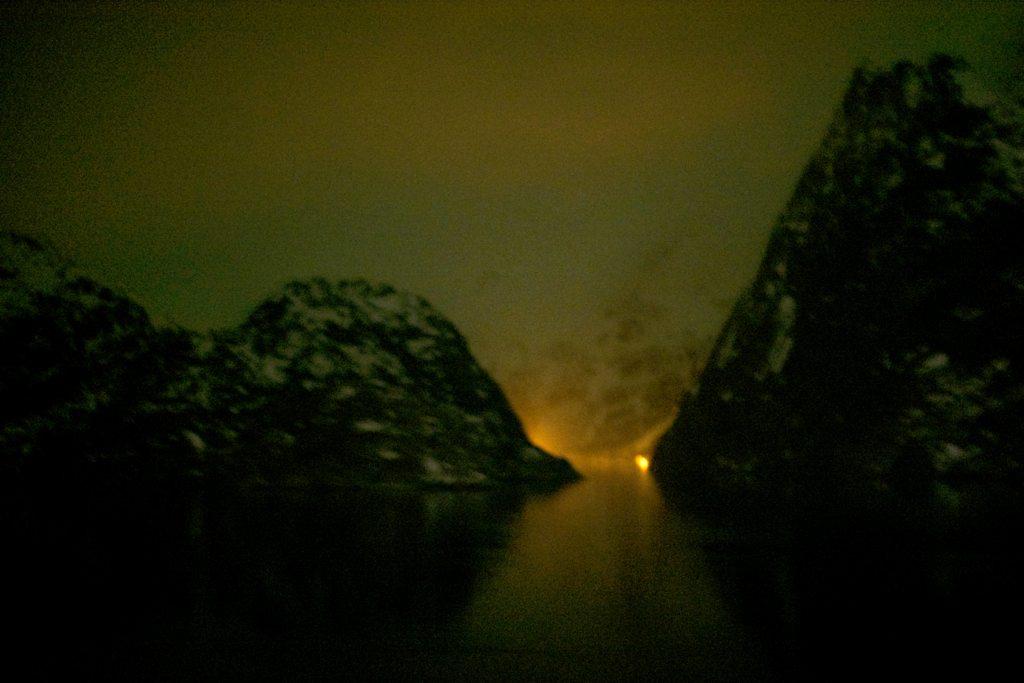 Trollfjord, 1. Versuch
