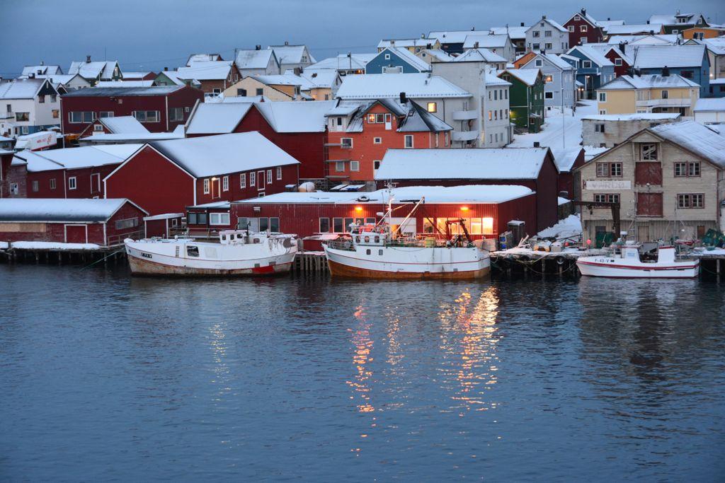 Vardø bietet die Option, im Eismeer zu baden.
