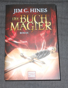 Gerade noch rechtzeitig in der Buchhandlung erwischt: Libriomancer auf Deutsch.
