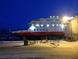 Die Nordkapp in Tromsø. Ist sie nicht wunderhübsch?