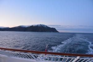 Blick zurück auf's Westkap