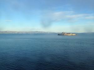 Die Insel Munkholmen vor Trondheim