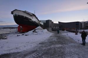 Das Hurtigrutenmuseum.