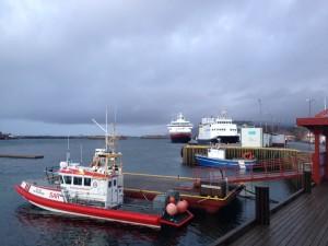 Die Nordkapp in Brønnøysund.
