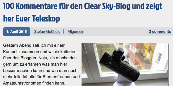 CLBlog-Wette