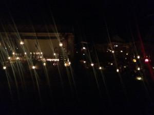 Schöne Stände, auch bei Nacht.