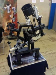 Montierungs-Glücksrad bei Tele-Optic