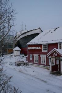 Die alte Finnmarken in Stokmarknes