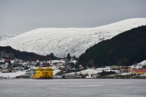 Versorgungsschiffe in Torvik