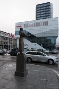 Denkmal für das Unglück auf der Erling Jarl