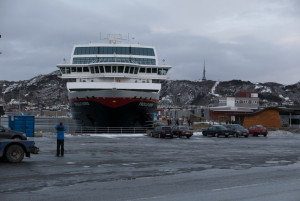 Die Trollfjord in Bodø