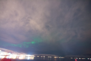 Lite, lite lys über Tromsø