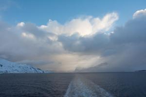 Der mystische Norden bleibt zurück