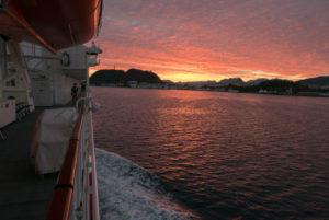 Ålesund im Morgenrot