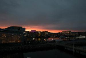 Déjà Vu: Morgenrot in Trondheim