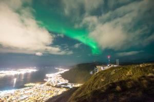 Polarlicht vom Storsteinen