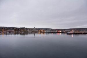 Blick auf Vadsø
