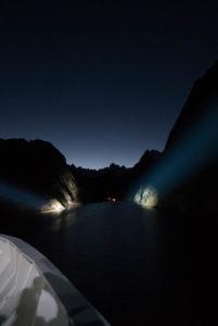 Der Eingang zum Trollfjord