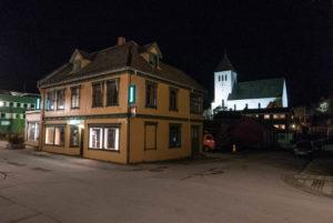Eines der ältesten Häuser in Svolvær