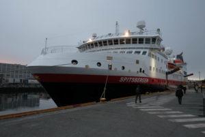 Die Spitsbergen in Trondheim