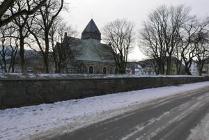 Die Kirche von Ålesund.