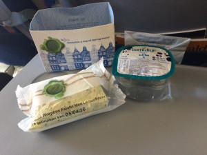 Lecker Essen bei KLM