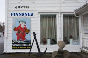 Schokowerbung in Finnsnes