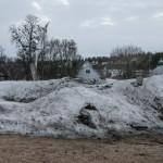 Schnee- und mehr Winterrreste