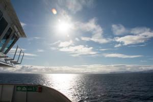 Bestes Wetter vor Hammerfest