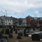 Blick zum Wiederaufbaumuseum