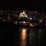 Eismeerkathedrale bei Nacht