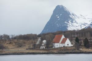 Die Trondenes-Kirche
