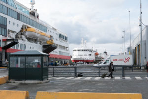 MS Trollfjord und MS Vesterålen