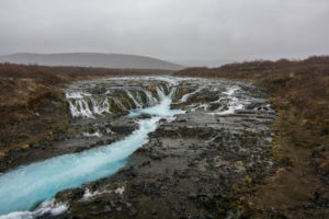 Ein Wasserfall im Nirgendwo