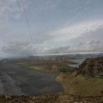 Blick zurück auf Sólheimasandur