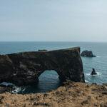 Das namensgebende Tor von Dyrhólaey