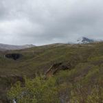 Erster Blick auf den Svartifoss