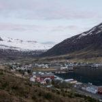 Blick auf Seyðisfjörður