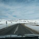 Schnee am Pass bei bei Seyðisfjörður