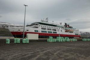 Die Fram in Akureyri