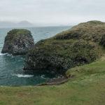 Die Küste bei Anarstapi