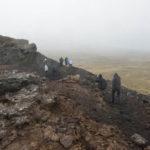 Windtest am Kraterrand