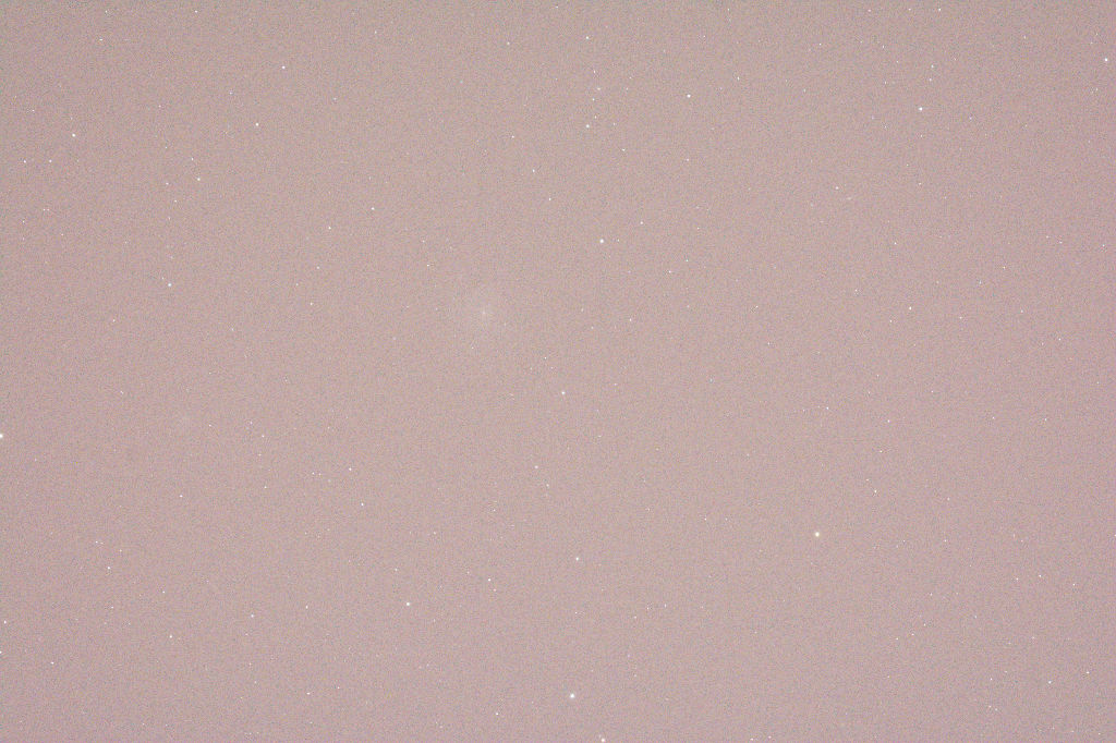 M101 – RAW-Bild, drei Minuten bei 2000 ISO, 480mm Brennweite