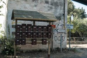 Zentrale Postverteilung