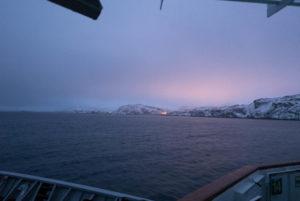 Kurz vor Havøysund
